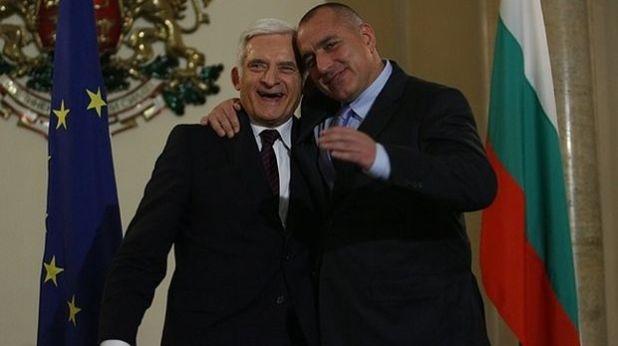 Бойко Борисов и Йежи Бузек