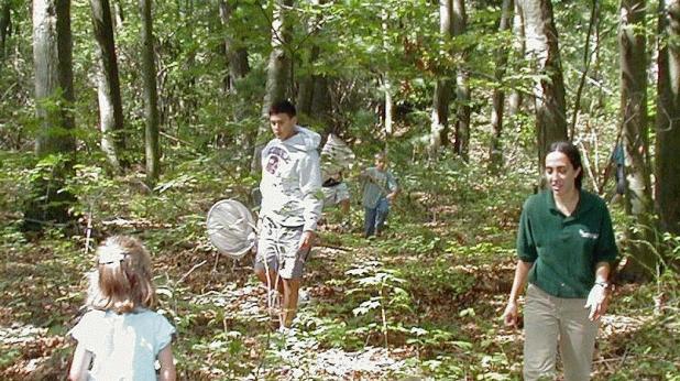 Еколози в гората