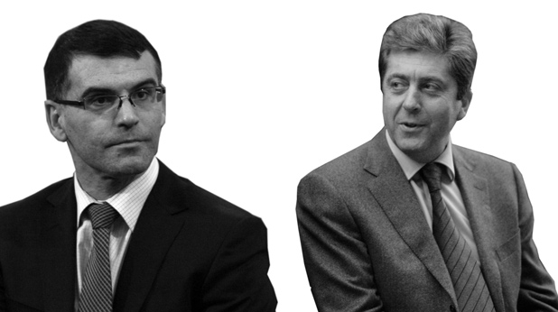 Симеон Дянков и Георги Първанов
