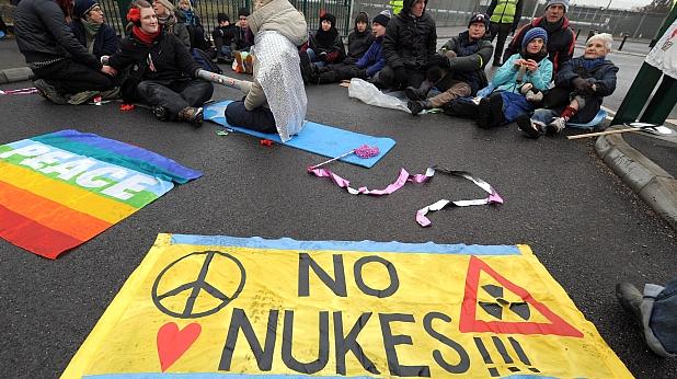 протест във Великобритания