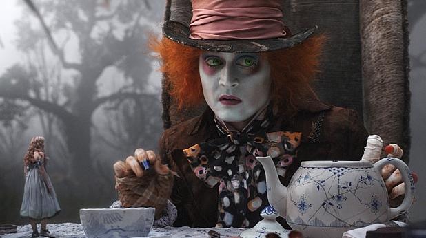 """Джони Деп в """"Алиса в страната на чудесата"""""""