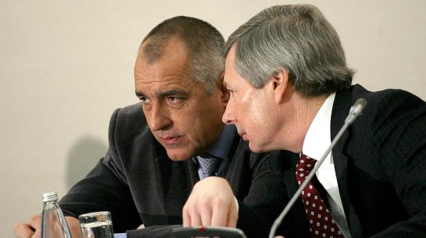 Бойко Борисов и Джеймс Уорлик