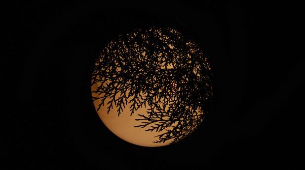 Луната - градска лампа