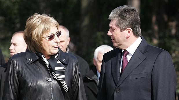 Цецка Цачева и Георги Първанов
