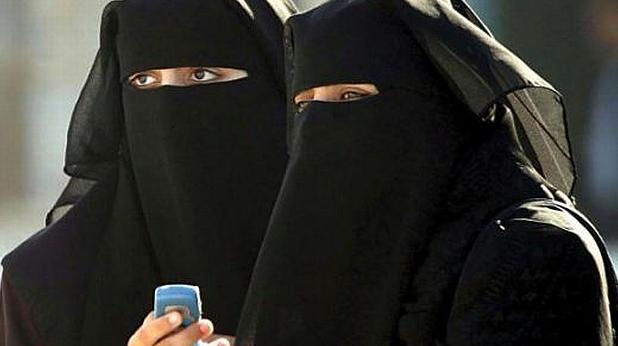 мюсюлманки, жени, бурка