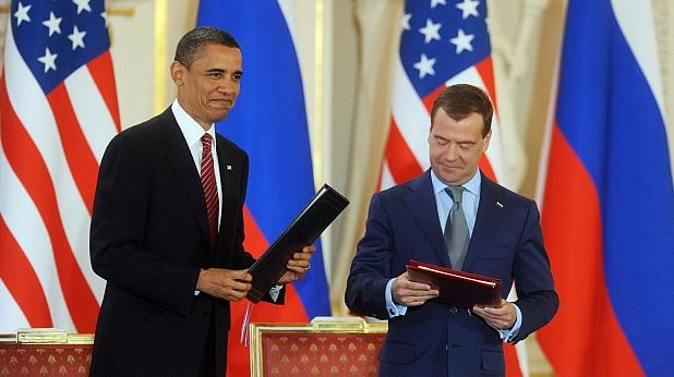 Барак Обама, Дмитрий Медведев