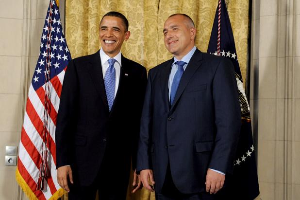 Бойко Борисов и Барак Обама в Белия дом