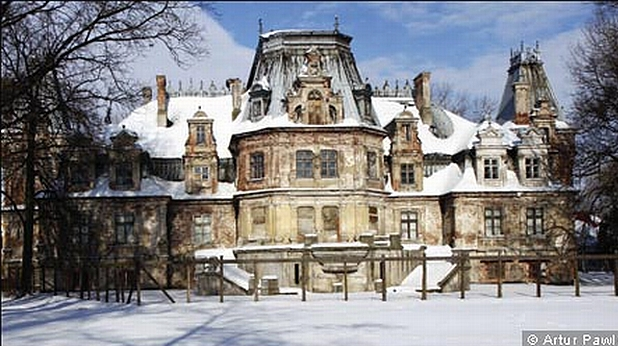 замък, Полша, Гузов