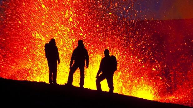 вулкан, Исландия