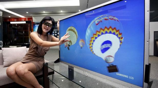 Samsung извади 3d телевизор за 4 бона