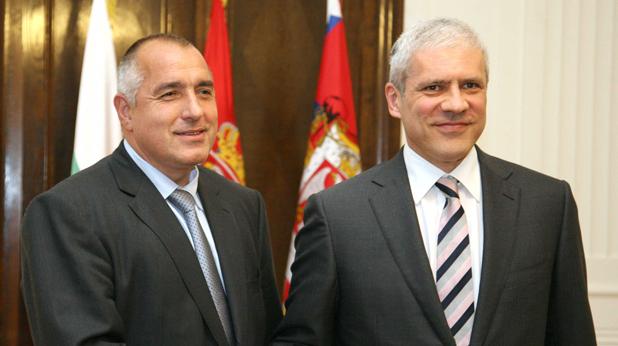 Бойко Борисов с премиера на Сърбия Тадич
