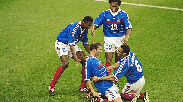 Франция - световен шампион през 1998