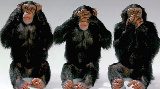 три маймуни