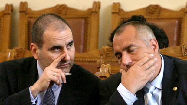 Бойко Борисов и Цветан Цветанов