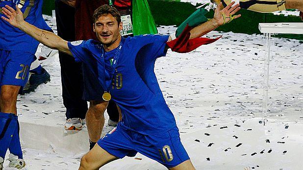 Тоти - световна титла през 2006