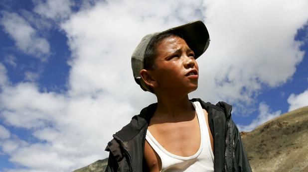 Тибетско момче
