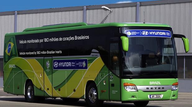 юар, бразилия, автобус