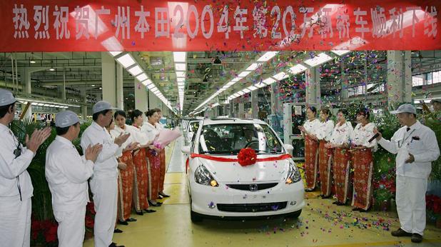 Хонда Китай