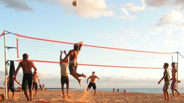 волейбол плаж