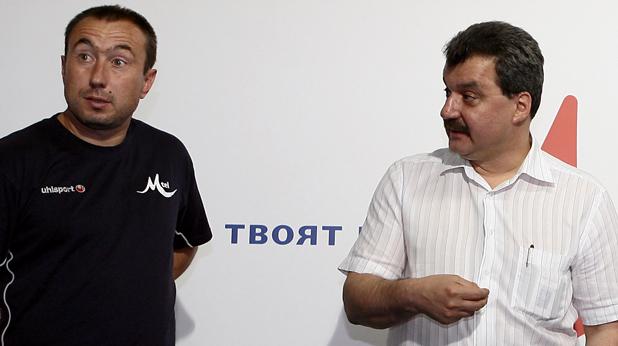 Станимир Стоилов и Тодор Батков