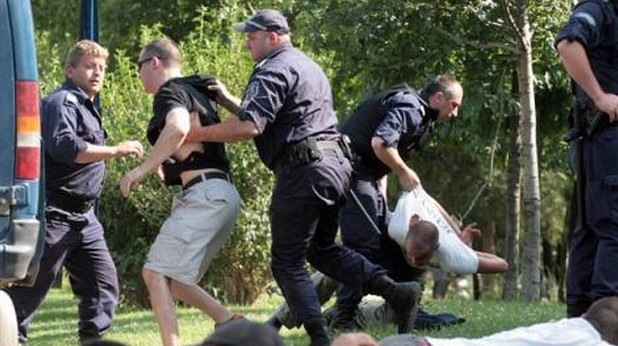полиция, скинари