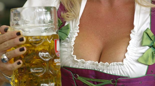 бира и цици