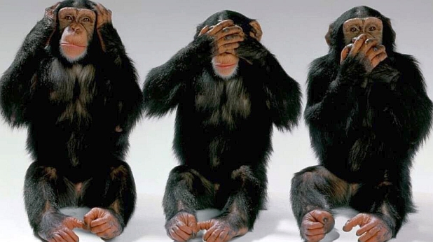 трите маймуни