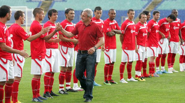 Представяне на ЦСКА за сезон 2010/11