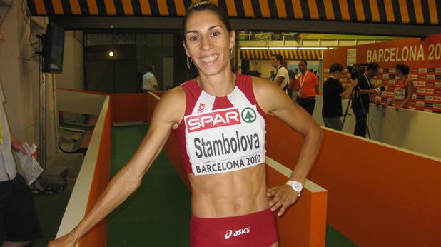 Ваня Стамболова, лека атлетика, Барселона