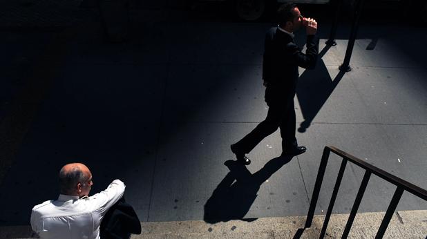 Човек на улицата