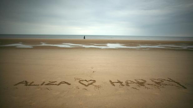 плаж, любов