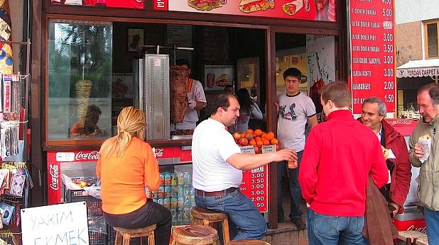 дюнер, истанбул