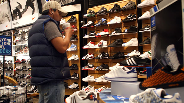 магазин, обувки