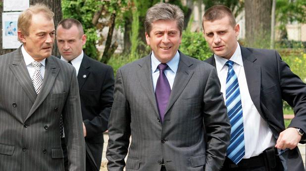 Георги Първанов и НСО