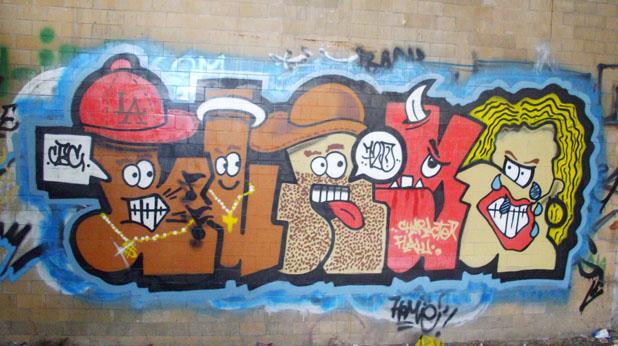 графити, топ