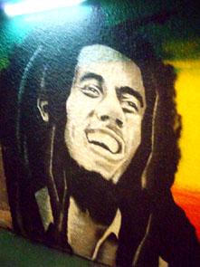 графити, боб марли