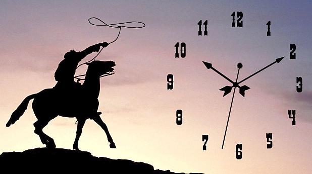 часовник, време