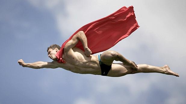 полет, супермен