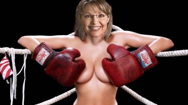 жена, боксьор