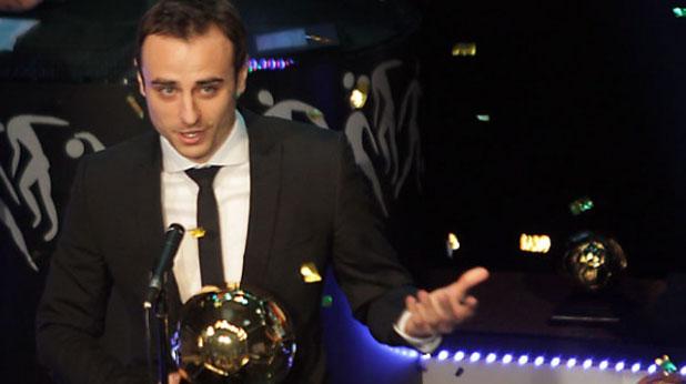 Димитър Бербатов, футболист на годината
