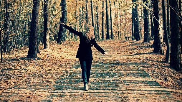 жена, есен