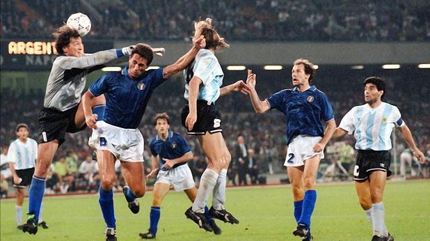 Италия - Аржентина - полуфинал на Мондиал 90