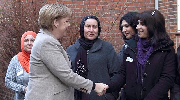 ангела меркел, имигранти