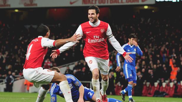 Арсенал - Челси 3:1, 27 декември 2010