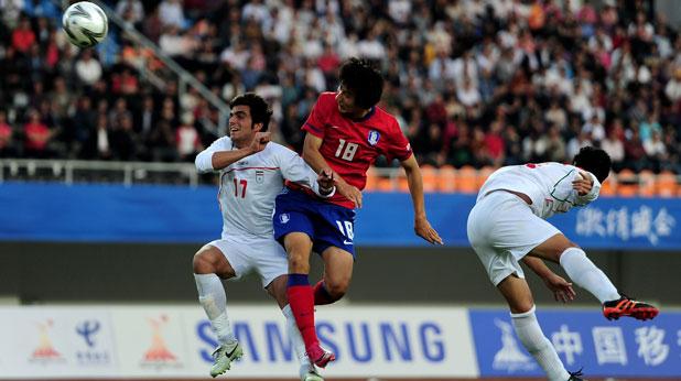Южна Корея - Иран 4:3, Азиатски игри 2010