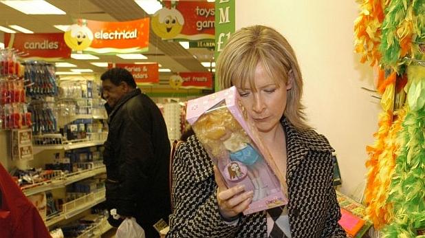 жена, супермаркет, клаудия конъл