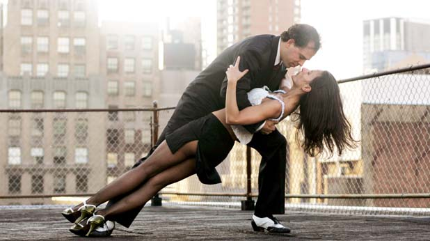 любов, танц