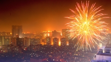 китай, нова година