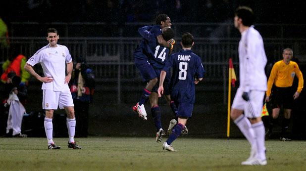 Олимпик (Лион) - Реал (Мадрид) 1:0