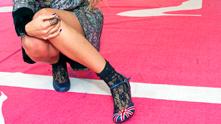Крака, обувки, чорапи